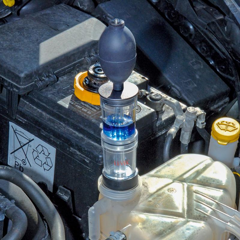 Draper Expert Combustion Gas Leak