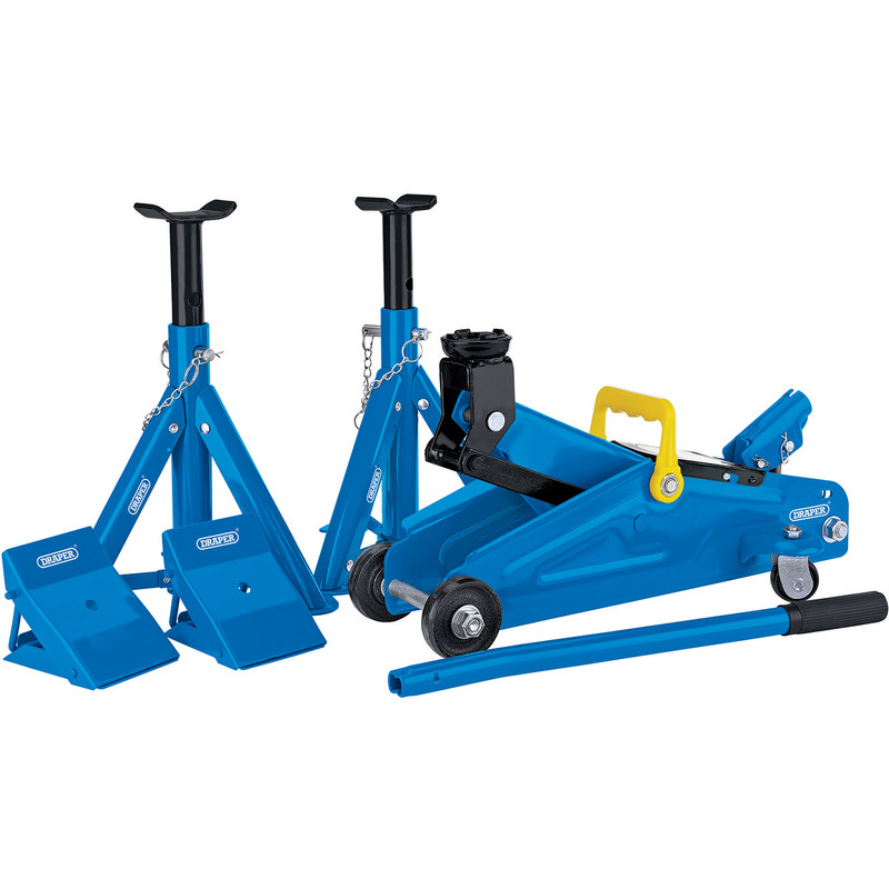 Draper Trolley Jack Combination Kit