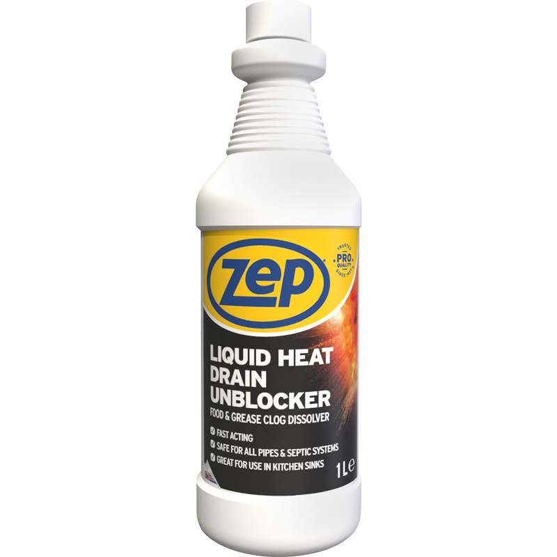 Zep Commercial Liquid Heat Drain Unblocker