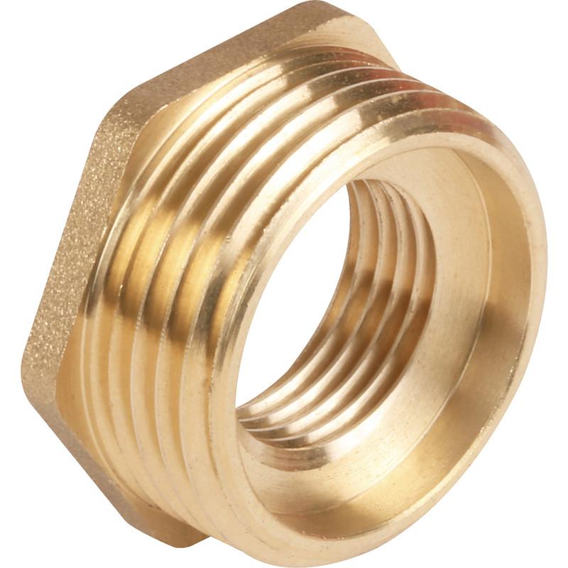 Made4Trade Brass Hexagonal Bush
