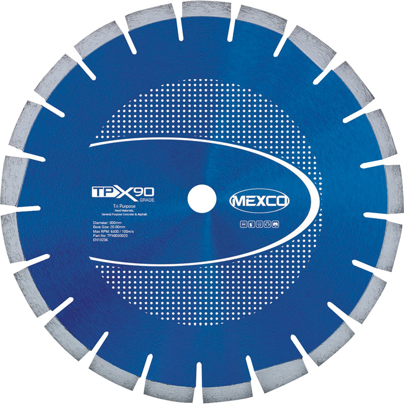 Mexco Granite/Concrete/Asphalt Cutting Diamond Blade